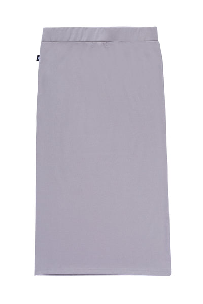 Teens' Midi Straight Skirt in Grey