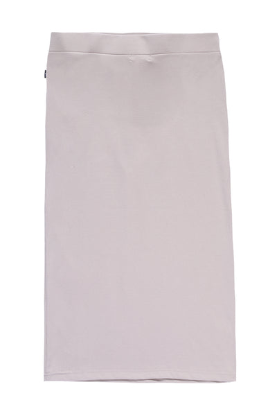 Teens' Midi Straight Skirt in Beige