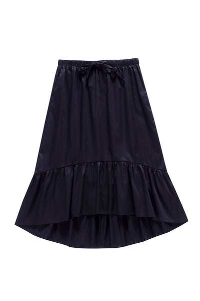 Teens'  Hi-low Skirt in Black