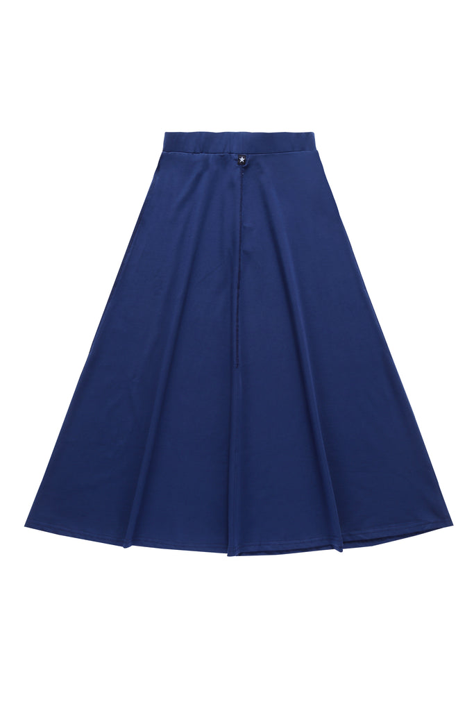 Girls' Maxi Skirt in Blue