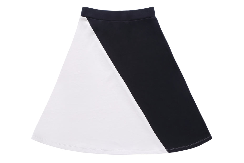 Online Exclusive: Teens' Tan & Black Skirt