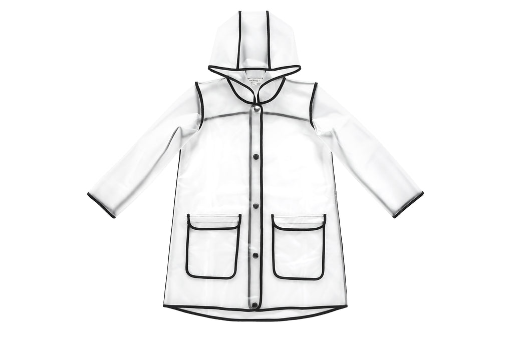 Girls'/Boys' Transparent Raincoat