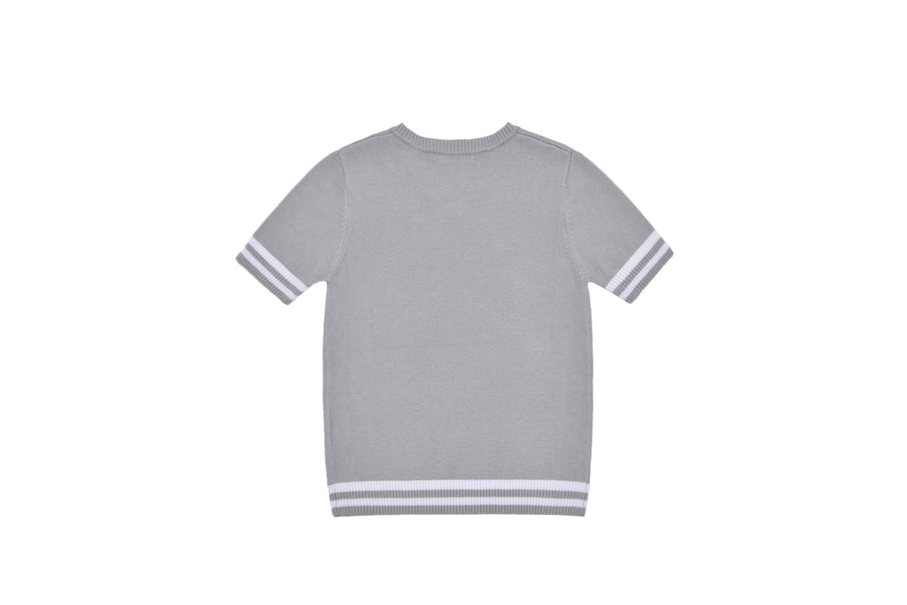 Boys Velvet Trim Shirt