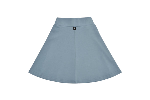Girls Basic Light Teal Skirt