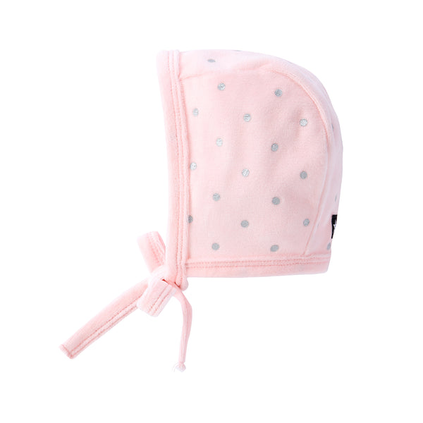 Baby Hat in Pink Polka Dot