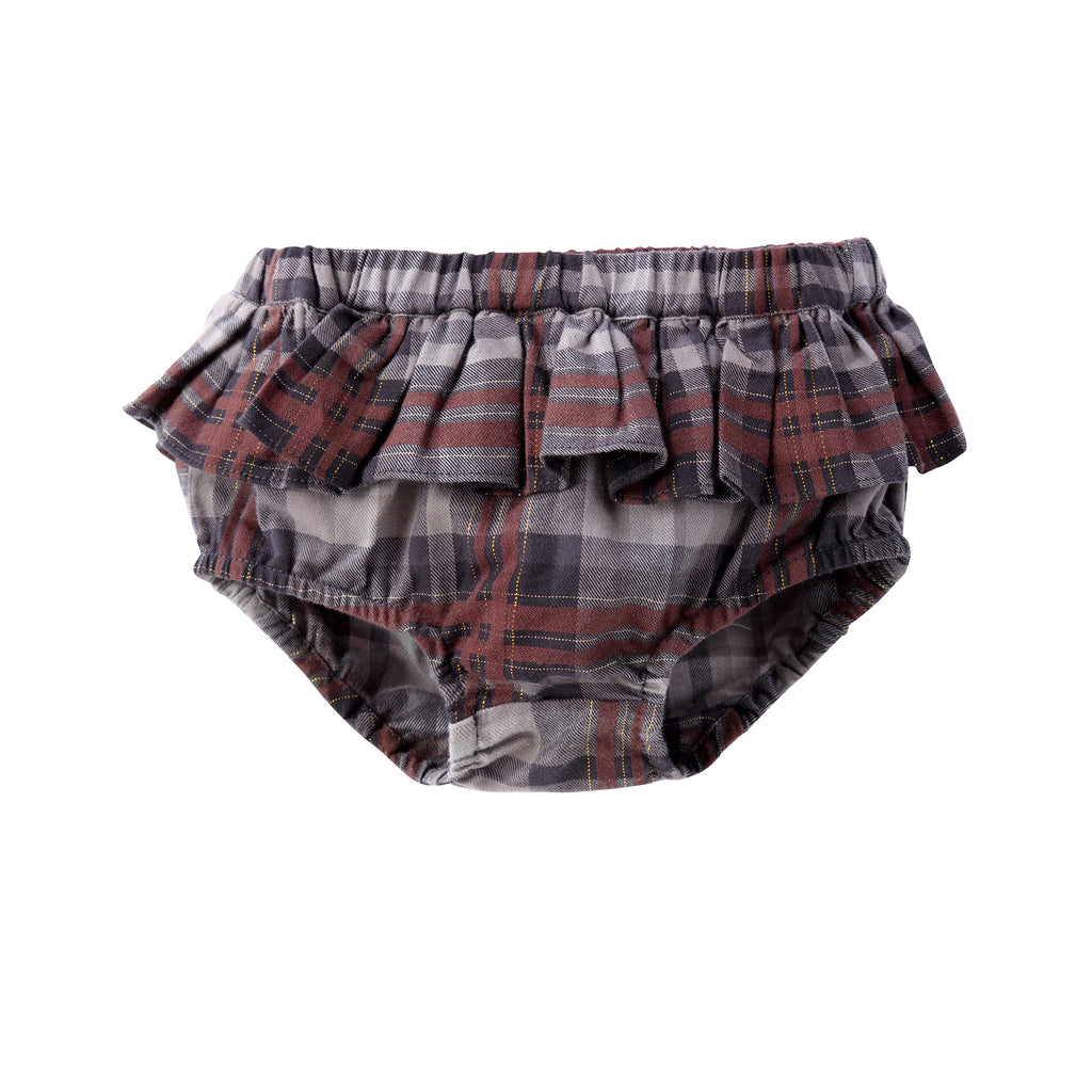 Baby Girl Plaid Bloomer