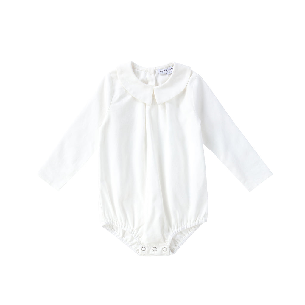 Baby White Shirt with Collar