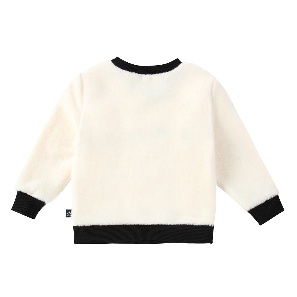 "Boys ""Amour"" Fur Sweatshirt"