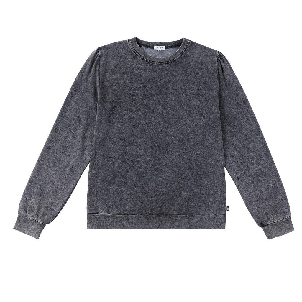 Teens Marbled Grey Jersey Knit T-shirt
