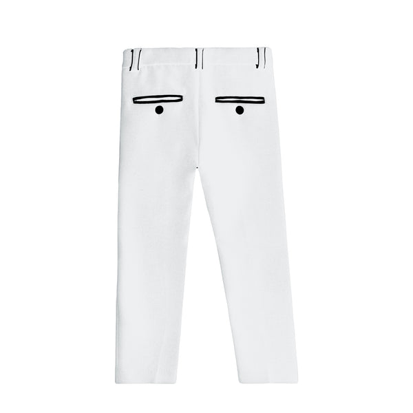 Boys Ivory Pants (Matches Ivory Blazer)