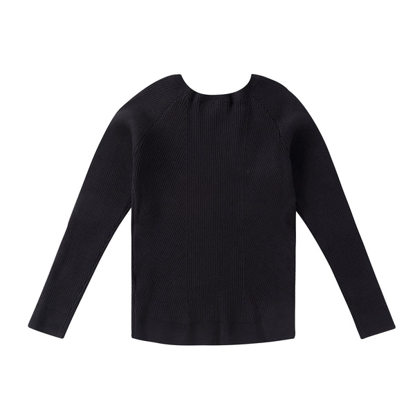 Boys Basic Black Sweater