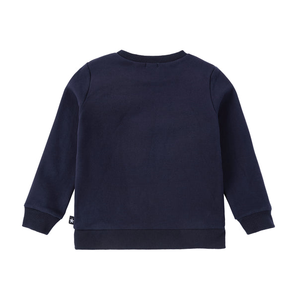 Boys Pocket Sweatshirt in Navy