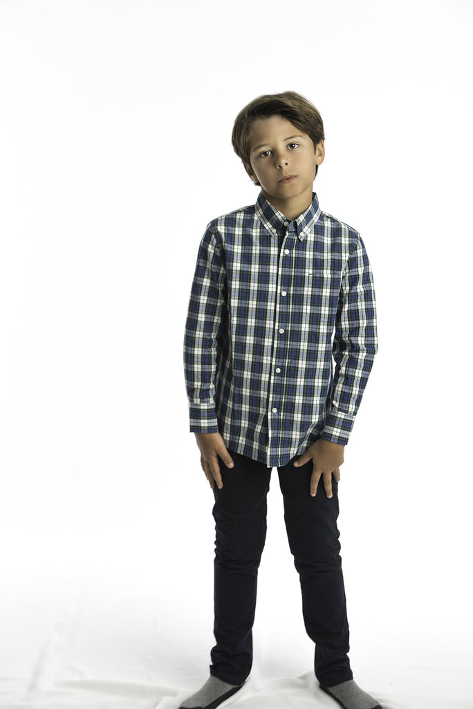PerfectTex Shirt in Preppy Multi-Plaid