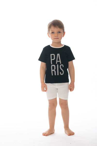 "Boys' ""PARIS"" T-shirt"