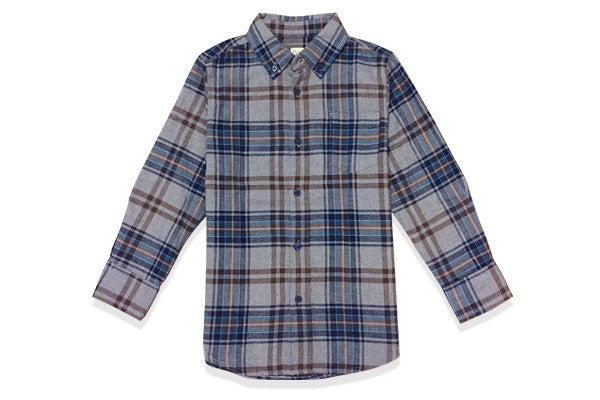 Flannel Shirt in Jumbo Plaid