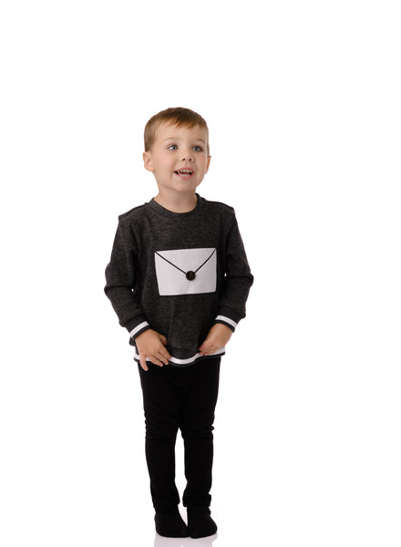 Baby boys' envelope Sweatshirt