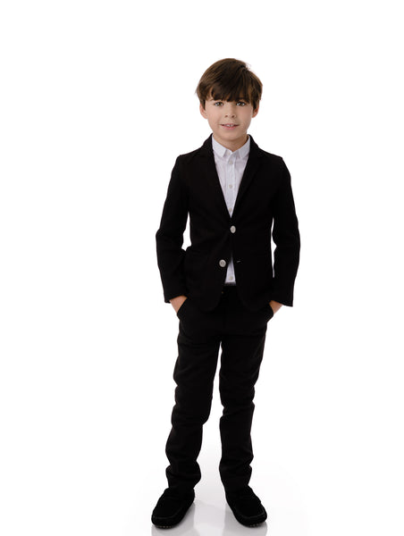 Boy's Pants in Velvet (matches velvet blazer)