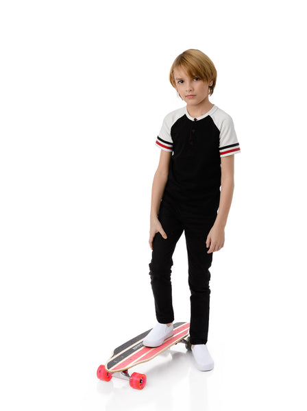 Boys Cove T-shirt in Black