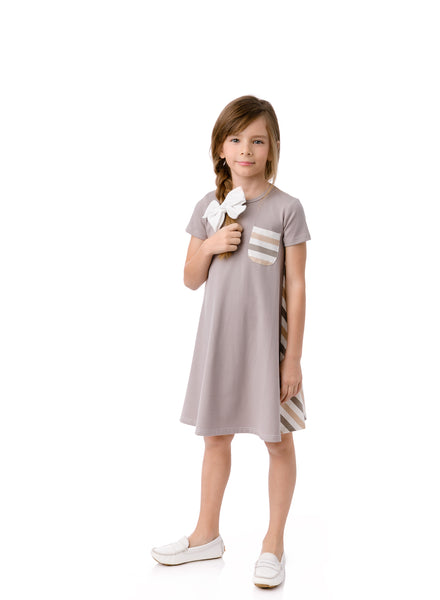 Girls' Cabana Stripe Dress