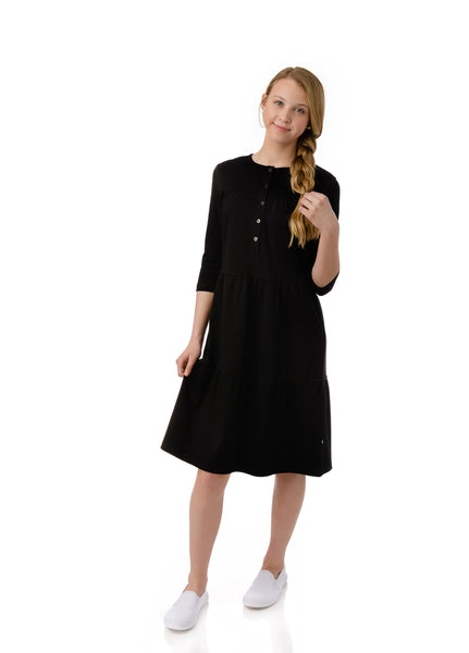 Teens Cove Dress in Black