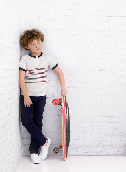 Boys Bay Striped T-shirt