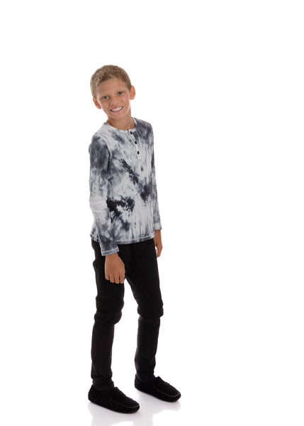 Boys Winterwash Long Sleeve with 3 Buttons
