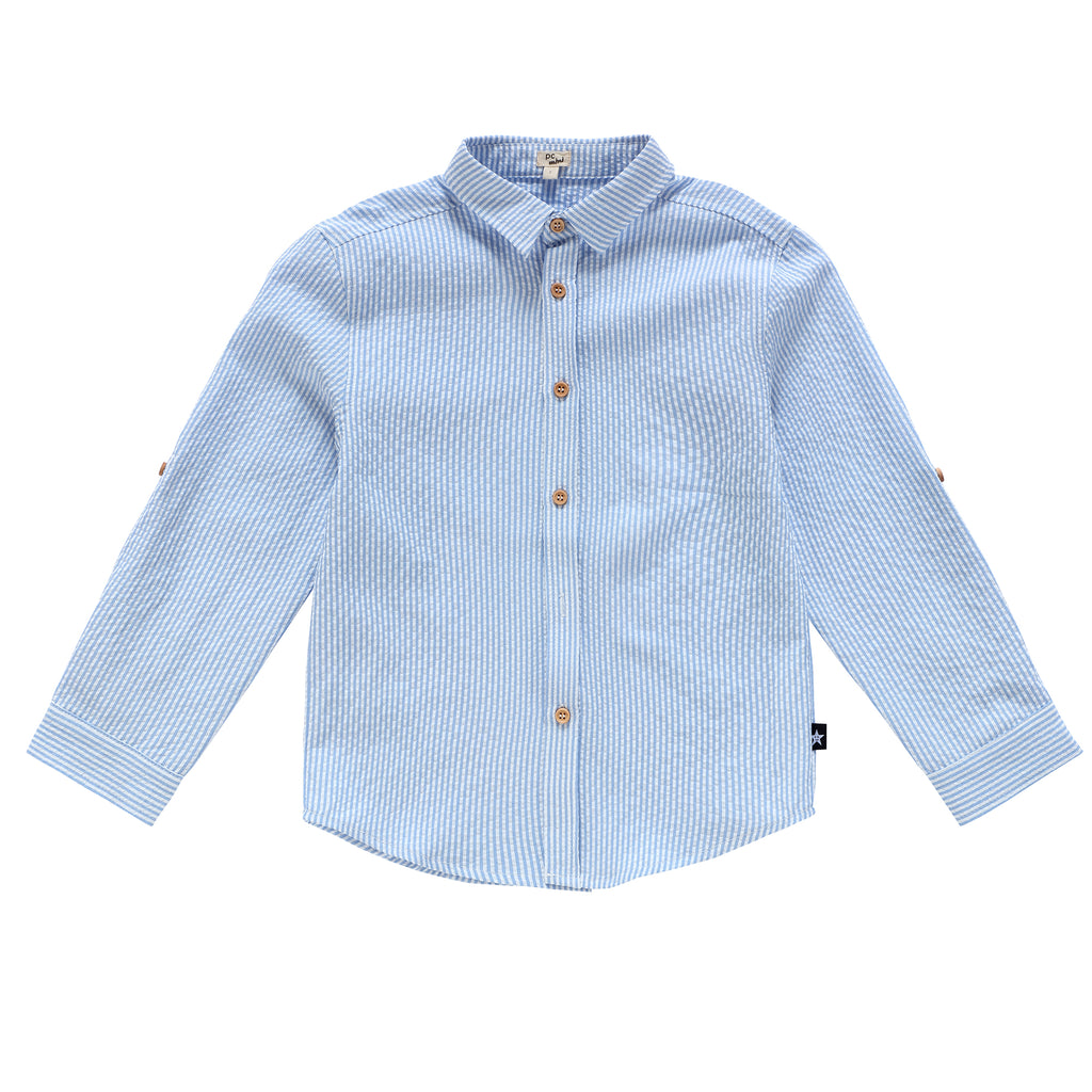Boys' Seersucker Shirt