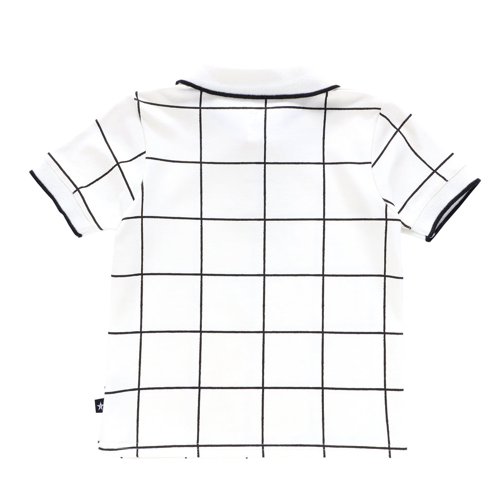 Boys Grid Polo
