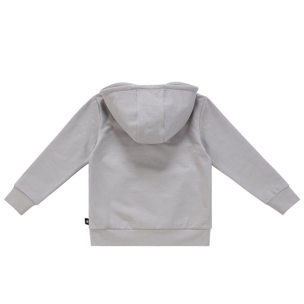 Boys Grey Pullover Sweater