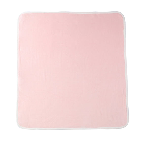 Baby Velour Blanket in Pink