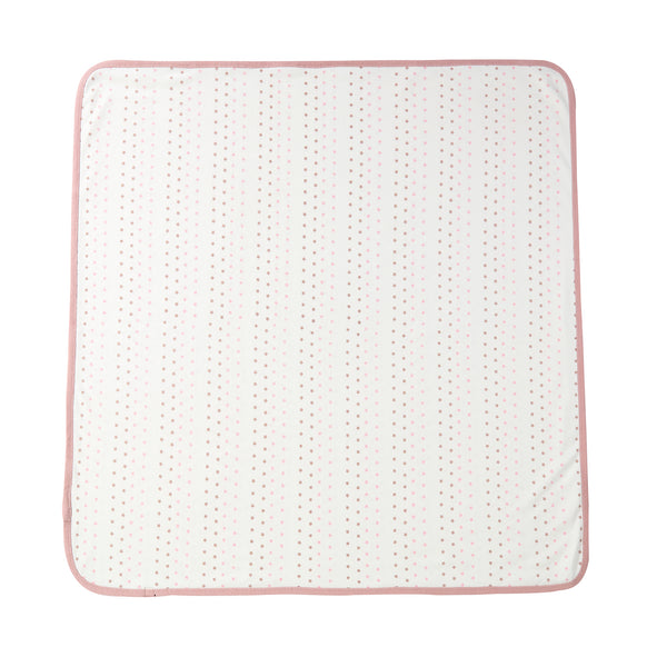 Baby Blanket in Pink Star