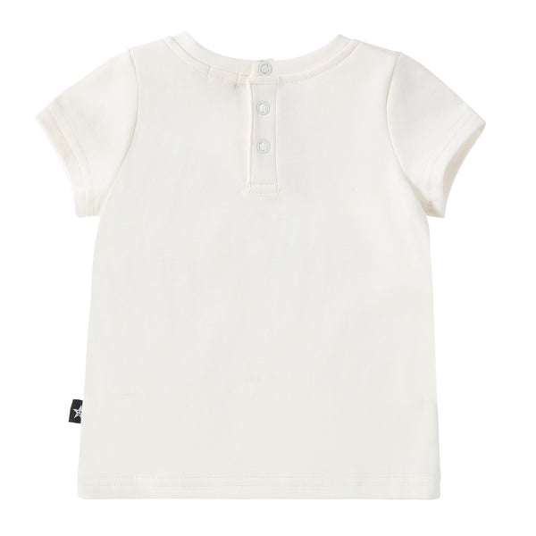 Baby T-shirt in Ivory