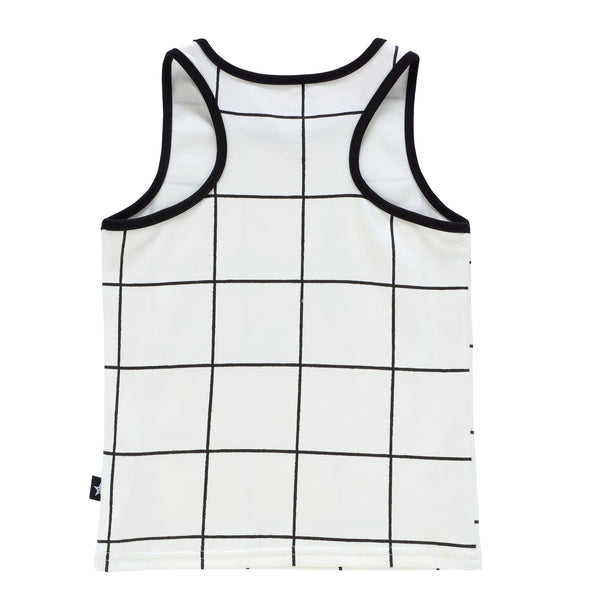Baby Boys' Grid Top