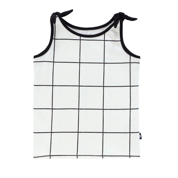 Baby Girls Grid Top