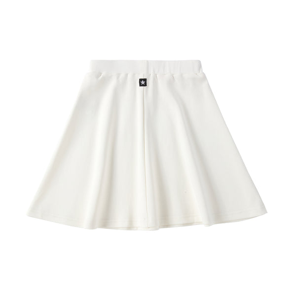 Girls Basic White Skirt