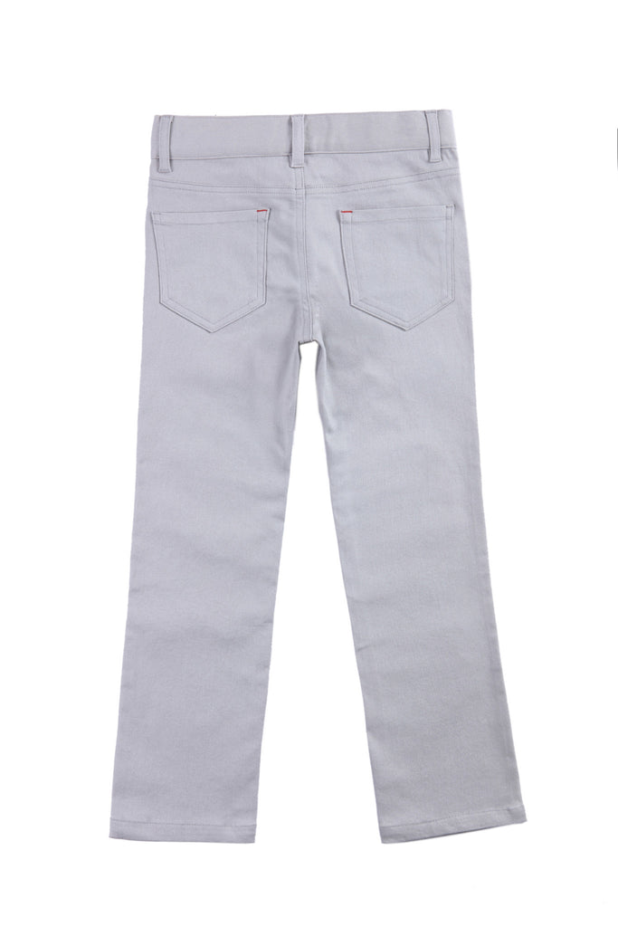 Cobe Boys Pants in Stone