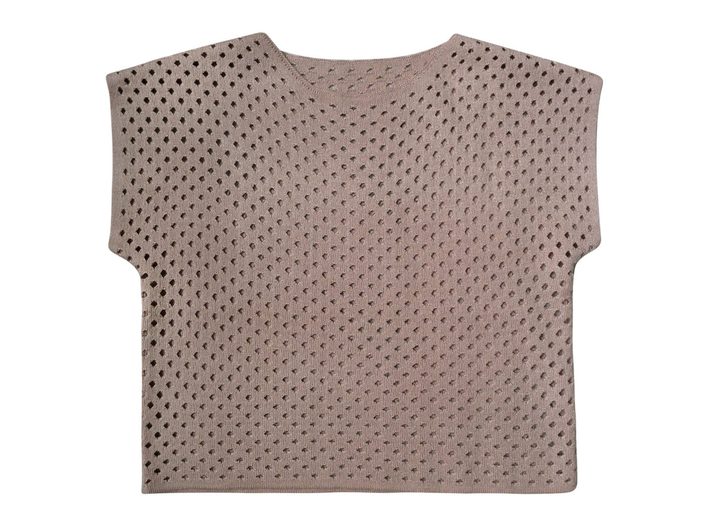 Becca Short Sleeve Top in Dusty Rose