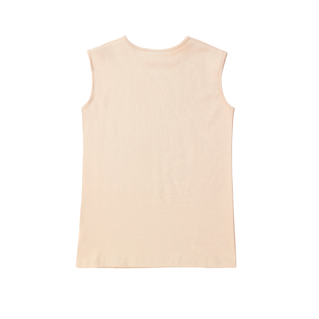 Teens Sleeveless Sand Shell