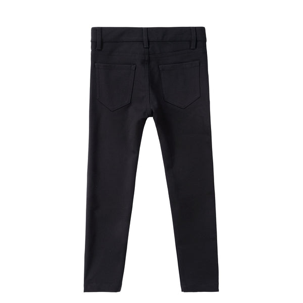 5 Pocket Boys Black Stretch Dress Pants