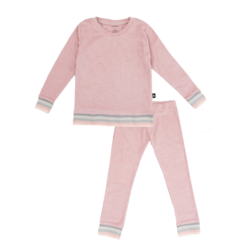 Pink Terry Pajamas