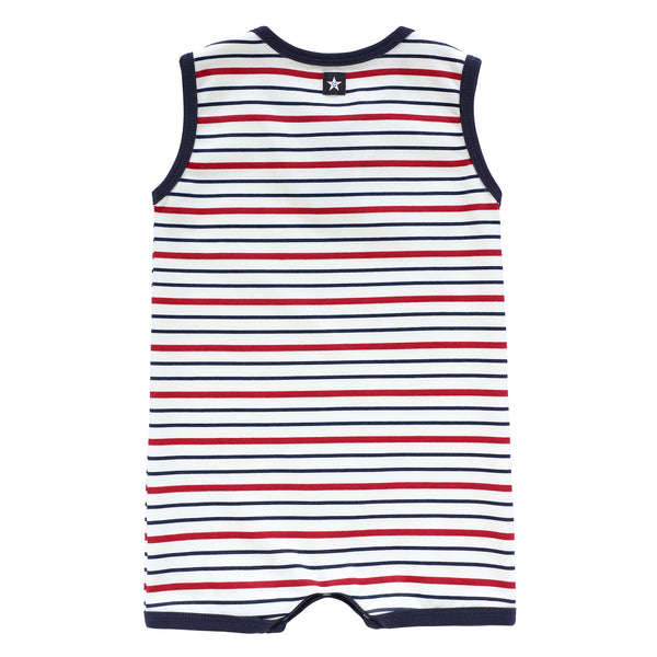 Baby Boys' Bay Striped Romper