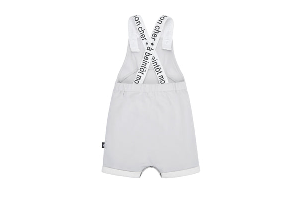 Baby Romper in Light Grey