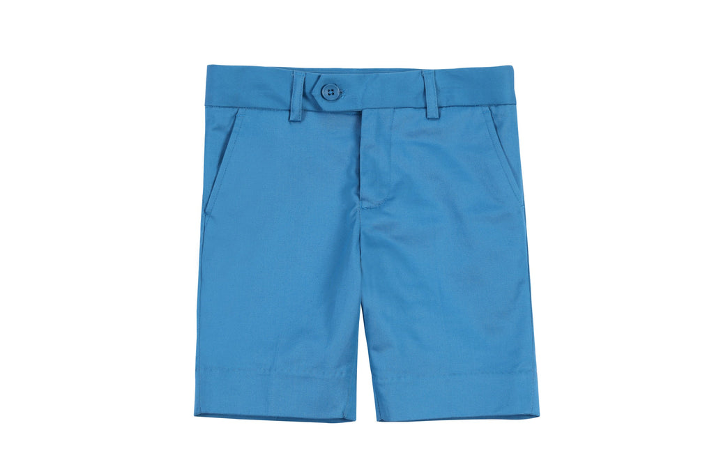 Boys Shorts in Electric Blue