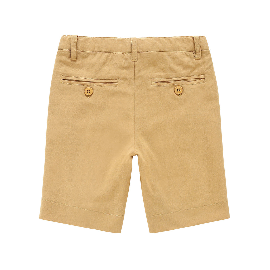 Boys Gold Shorts