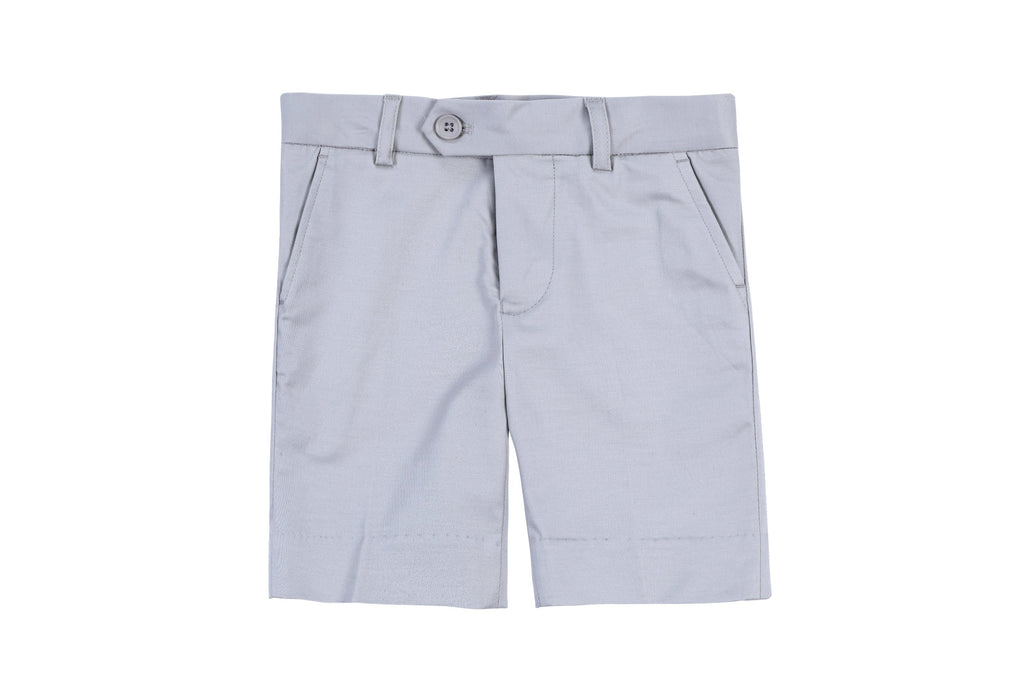 Boys Shorts in Granite
