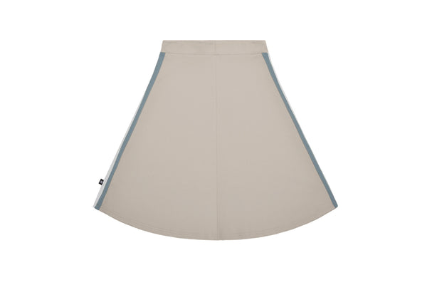 Girls' A-line Skirt in Tan