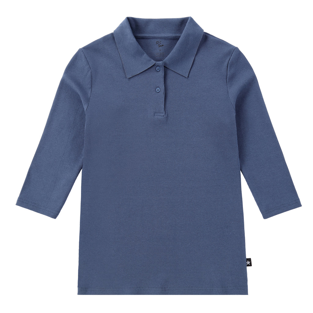 Polo T-shirt in Blue