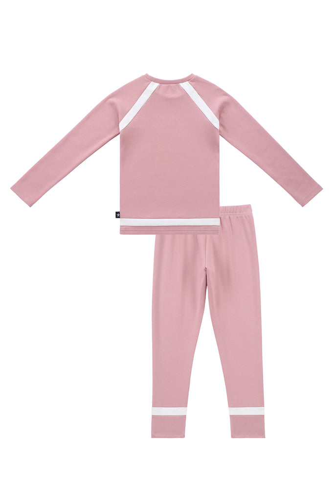 2pc Pajamas in Mauve