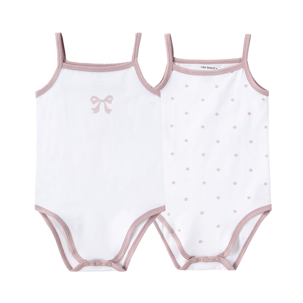 NEW: Baby 2pack Cherry and Polka Dot Onesie