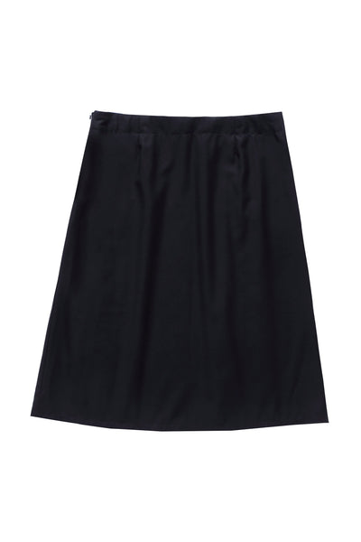 Teens'  Fashion Pleated Skirt in Black